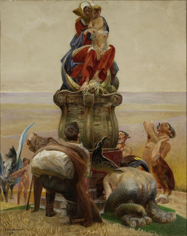Jacek Malczewski, Adoration of the Madonna (1910), The National Museum in Warsaw